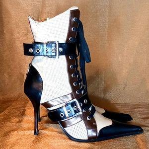Gianmarco Lorenzi leather boots size 38.5